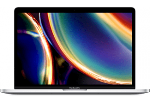 """APPLE MacBook Pro 13"""" (2020) - Zilver i5 16B 512GB"""