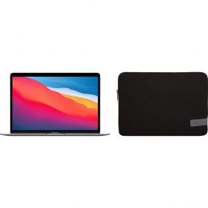 Apple MacBook Air (2020) MGN63N/A Space Gray + Case Logic Reflect sleeve