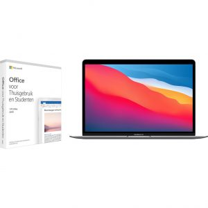 Apple MacBook Air (2020) MGN63N/A Space Gray + Microsoft Office 2019
