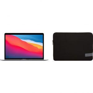 Apple MacBook Air (2020) MGN73N/A Space Gray + Case Logic Reflect sleeve