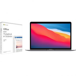 Apple MacBook Air (2020) MGN73N/A Space Gray + Microsoft Office 2019