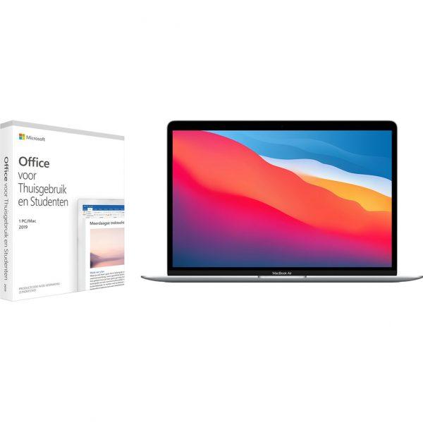Apple MacBook Air (2020) MGN93N/A Zilver + Microsoft Office 2019