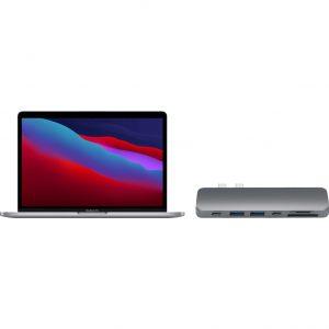 "Apple MacBook Pro 13"" (2020) MYD82N/A Space Gray + Satechi usb C hub"