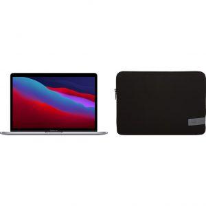 "Apple MacBook Pro 13"" (2020) MYD92N/A Space Gray + Case Logic Reflect sleeve"