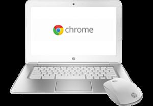 HP Chromebook 14 + Muis