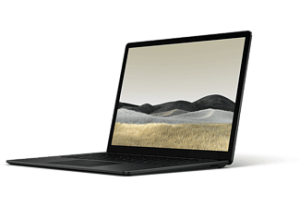 MICROSOFT Surface Laptop 3 - Zwart A9 8GB 256GB