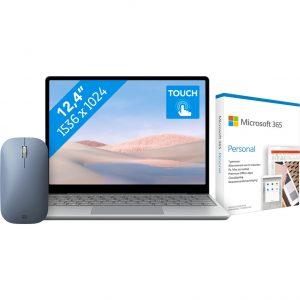 Microsoft Surface Laptop Go - i5 - 8GB - 128GB + Draadloze Surface Muis + Microsoft 365