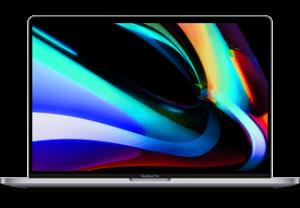 """APPLE MacBook Pro 16"""" (2019) - Spacegrijs i7 16GB 512GB 5300M"""