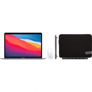 Apple MacBook Air (2020) 16GB/256GB Apple M1 Space Gray + Accessoirepakket Plus