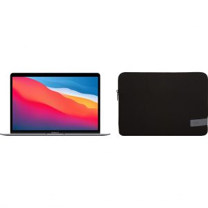 Apple MacBook Air (2020) 16GB/256GB Apple M1 Space Gray + Case Logic Reflect Sleeve