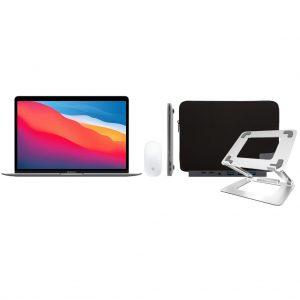 Apple MacBook Air (2020) 16GB/512GB Apple M1 Space Gray + Accessoirepakket Deluxe