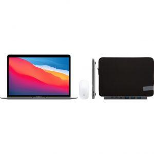 Apple MacBook Air (2020) 16GB/512GB Apple M1 Space Gray + Accessoirepakket Plus