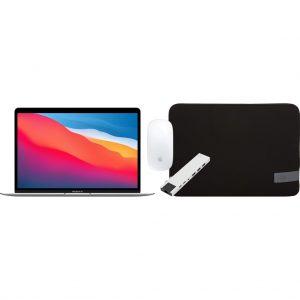 Apple MacBook Air (2020) MGN93N/A Zilver + Accessoirepakket