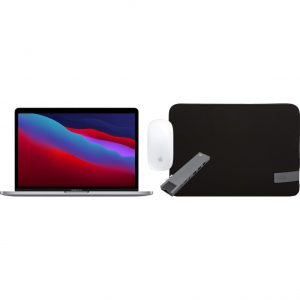 """Apple MacBook Pro 13"""" (2020) 16GB/1TB Apple M1 Space Gray + Accessoirepakket"""