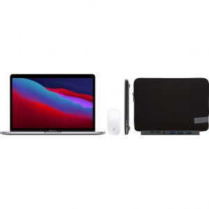 "Apple MacBook Pro 13"" (2020) 16GB/1TB Apple M1 Space Gray + Accessoirepakket Plus"