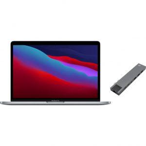 "Apple MacBook Pro 13"" (2020) 16GB/1TB Apple M1 Space Gray + Bluebuilt Docking Station"