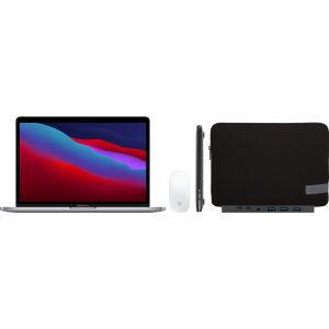"Apple MacBook Pro 13"" (2020) 16GB/256GB Apple M1 Space Gray + Accessoirepakket Plus"