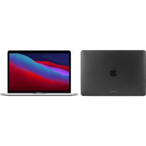 "Apple MacBook Pro 13"" (2020) 16GB/256GB Apple M1 Zilver + Bluebuilt Hardcase"