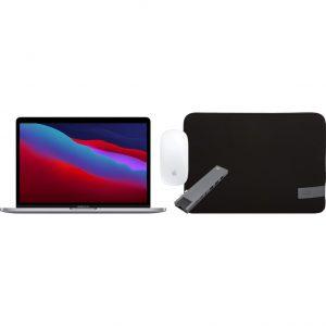 """Apple MacBook Pro 13"""" (2020) MYD82N/A Space Gray + Accessoirepakket"""