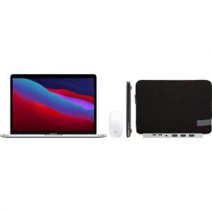 """Apple MacBook Pro 13"""" (2020) MYDA2N/A Zilver + Accessoirepakket Plus"""