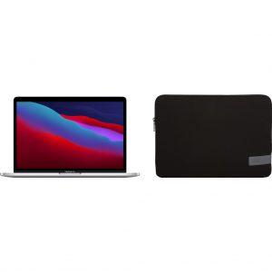 "Apple MacBook Pro 13"" (2020) MYDA2N/A Zilver + Case Logic Reflect Sleeve"