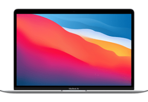 APPLE MacBook Air 13.3 (2020) - Zilver M1 1TB 16GB