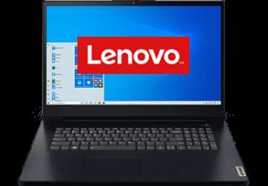 LENOVO IdeaPad3 17-Pentium 8GB 256GB Blauw
